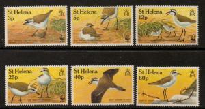 ST.HELENA SG630/5 1995 SAND PLOVER MNH