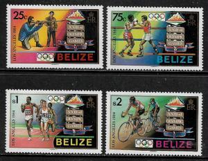 Belize #717-20 MNH Set - Summer Olympics
