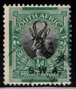 South West Africa Scott 96 Used