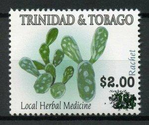 Trinidad & Tobago 2018 MNH Rachet Herbal Medicine $1 OVPT 1v Set Plants Stamps