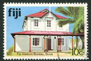 FIJI - 10c FIJI VISITORS BUREAU, SUVA - USED