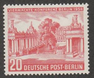 GERMANY #9N105 MINT NEVVER HINGED COMPLETE