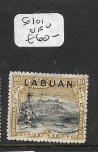 LABUAN (P2603B)  18C MOUNTAIN SG 101  VFU