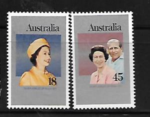 AUSTRALIA 659-660 MNH JUBILEE 1979