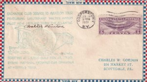 1931, Exchange Service Club Aviation Tour, Cooperstown, NY, See Remark (41309)