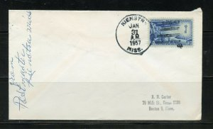 US POSTAL HISTORY OF STATE OF MISSISSIPI LOT OF 10 COVERS 1884-1992 AS SHOWN