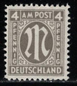 Germany AM Post Scott # 3N3, mint nh
