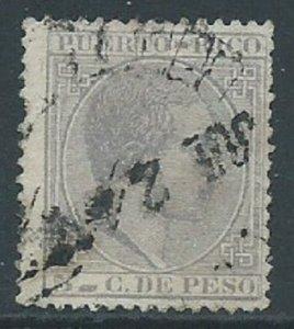 Puerto Rico, Sc #67, 5c Used