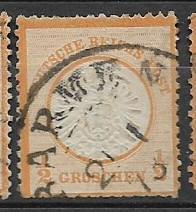 Germany Sc. #16 / Mi. #18 Used L19