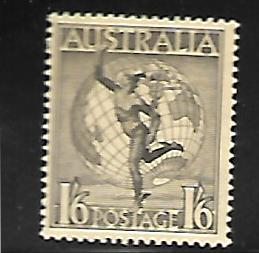 AUSTRALIA C6 MINT HINGED MERCURY AND GLOBE