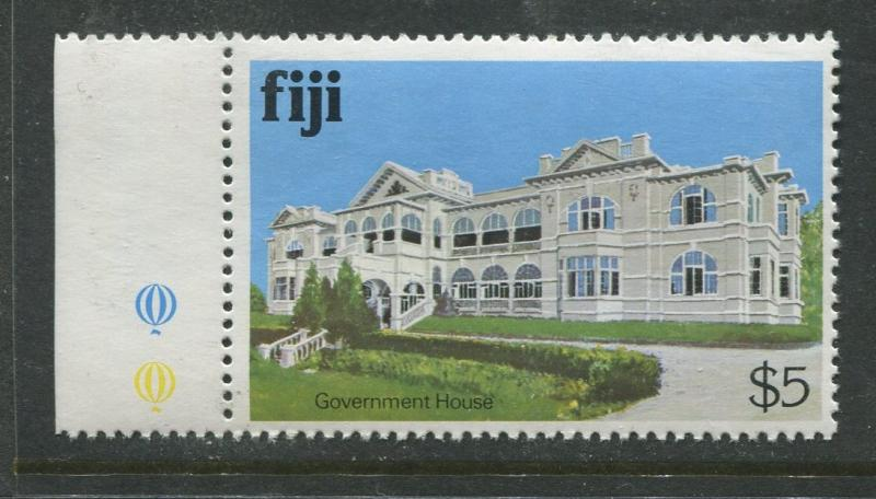 Fiji - Scott 425 - Buildings Issue 1979- MNH - Single $5.00 Stamp