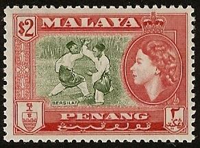 Malaya Penang MNH  s.c.#  54