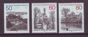 J20741 Jlstamps 1982 berlin germany set mnh #9n476-8 buildings