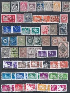 ROMANIA 68 DIFF STAMPS AT A BARGAIN PRICE. TAKE A LOOK!