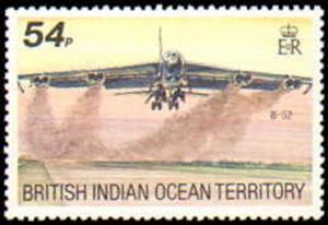 British Indian Ocean Territory #124-127, Complete Set(4), Never Hinged