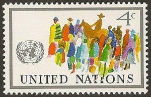 United Nations 268 New York Definitive 4c single MNH 1976