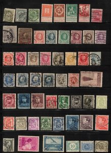BELGIUM Collection Of Mostly Used Stamps Some Minor Faults Good Value