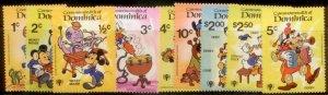 Dominica  Disney SC#  644-52 MNH CH1