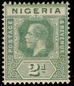 NIGERIA SG3, 2d grey, VLH MINT.