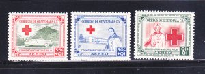 Guatemala CB5-CB7 Set MNH Red Cross (A)
