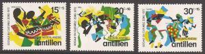 Netherlands Antilles B116-B118 Mint VF NH