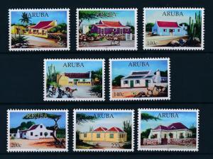[AR918] Aruba 2017 Local houses Goats Trees  MNH