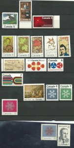 Can #532-42,552-581   M NH VF 1971 PD