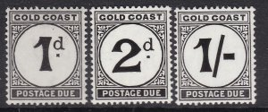 GOLD COAST ^^^^ BOB   sc# J2/J6    MNH POST/DUES $$@ cam2311gold