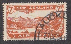NEW ZEALAND 1931 7d airmail fine used - ACS cat NZ$30.......................M426