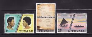 Tuvalu 16-18 Set MNH Various (A)