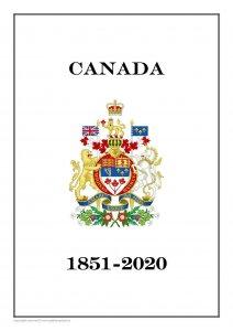 CANADA 1851 - 2020  PDF (DIGITAL) STAMP  ALBUM PAGES