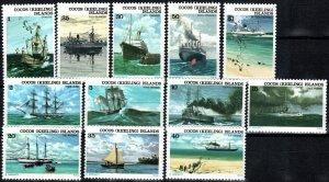 Cook Islands #20-31  MNH  CV $6.15 (X2521)