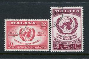 Malaya #85-6 Used