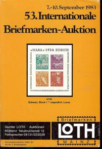 53. Loth-Briefmarken-Auktion: Internationale Briefmarkena...