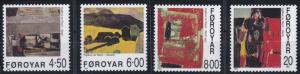 Faroe Islands 364-367 MNH (1999)