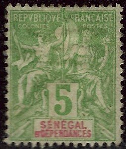 Senegal Sc #39 Mint VF...French Colonies are Hot!