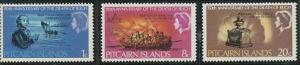 Pitcairn Islands 85-87 MNH (1967)