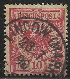 Germany 1889-1900 Scott # 48 Used