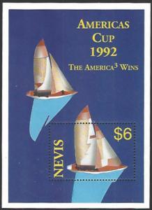 Nevis #782 MNH Souvenir Sheet cv $4