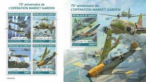 Z08 IMPERF DJB190520ab DJIBOUTI 2019 Operation Market Garden MNH ** Postfrisch