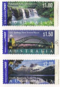 Australia #1840-42 scenics $1-$2 used