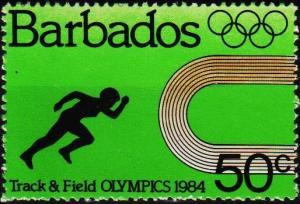 Barbados. 1984 50c S.G.745 Unmounted Mint