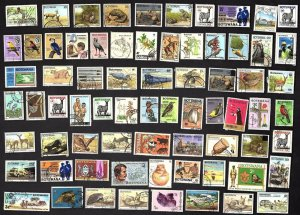 100 All Different  BOTSWANA  STAMPS