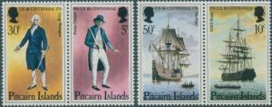 Pitcairn Islands 1976 SG167-170 American Revolution set MNH