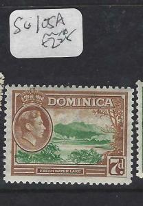 DOMINICA (PP1903B)  KGVI  7 D  SG 105A   MOG