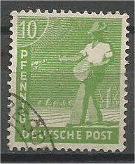 GERMANY, 1948, used 10ph, Sower. Scott 560