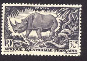 French Equitorial Africa 167 MLH