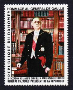 Dahomey Homage to General de Gaulle 1v SG#309