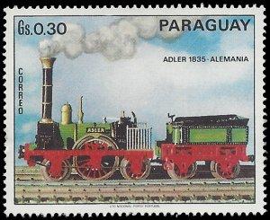 Paraguay #1399e 1972 Mint H