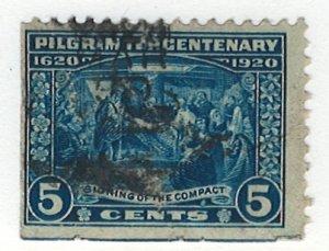 US Scott 550 Used! Pilgrim Centenary!